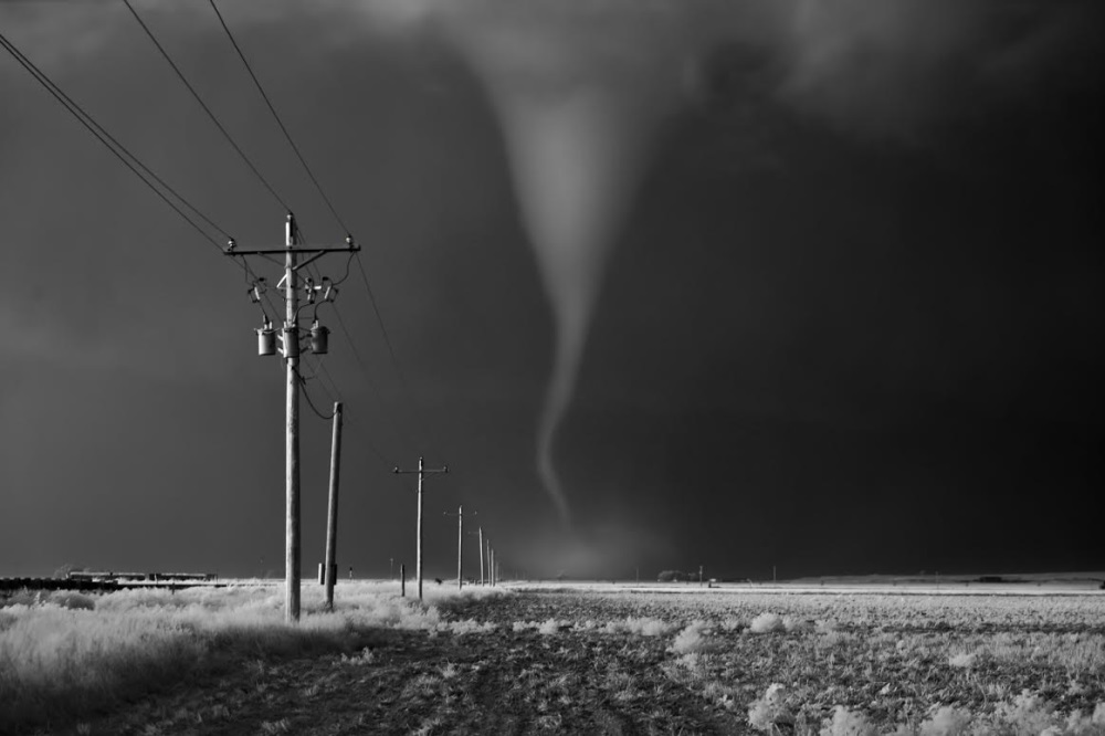 Mitch Dobrowner, Tornado Crossing Power Poles