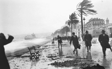 Jacques Henri Lartigue, Storm at Nice