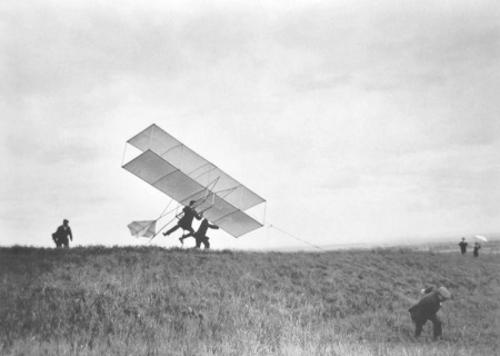 Jacques Henri Lartigue, The ZYX Takes Off....
