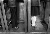 Gary Bishop, Man and Woman in Phone Booths
