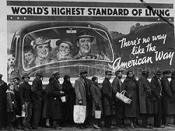 Margaret Bourke-White, At the Time of the Louisville Flood